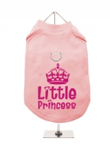 ''Little Princess #1'' Harness-Lined Dog T-Shirt