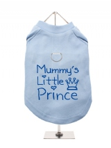 ''Mummys Little Prince'' Harness-Lined Dog T-Shirt