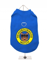 ''Neighbourhood Watch'' Harness-Lined Dog T-Shirt