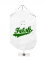 ''St. Patrick: Irish'' Harness-Lined Dog T-Shirt
