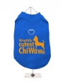 ''Worlds Cutest ChiWaWa'' Harness T-Shirt