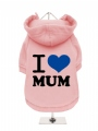 ''I Love Mum'' Dog Sweatshirt